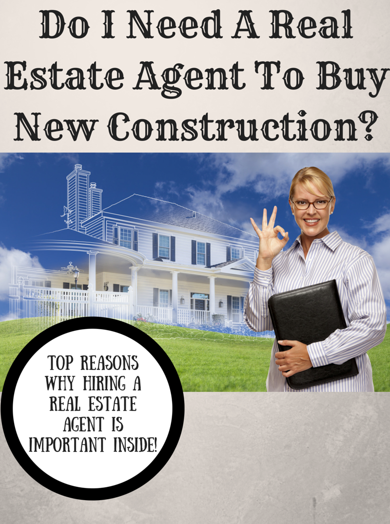Do i need a real estate agent to buy new construction for Modern homes estate agents