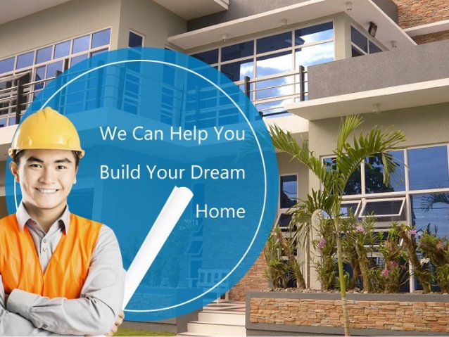 We can help you build your dream home for Build your dream home