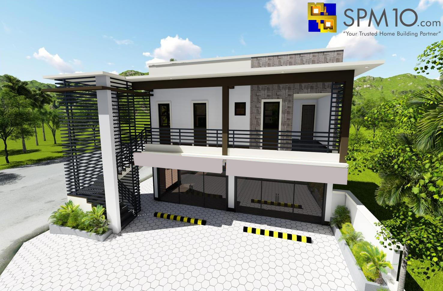 4 - Get Modern Small Commercial House Design Images