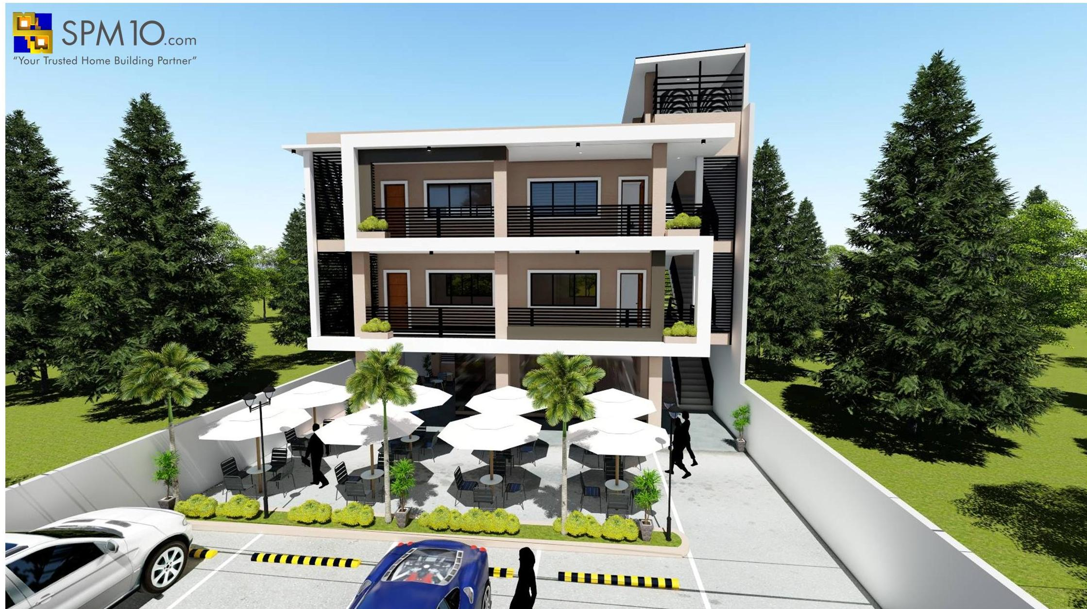 3 Storey Commercial Building